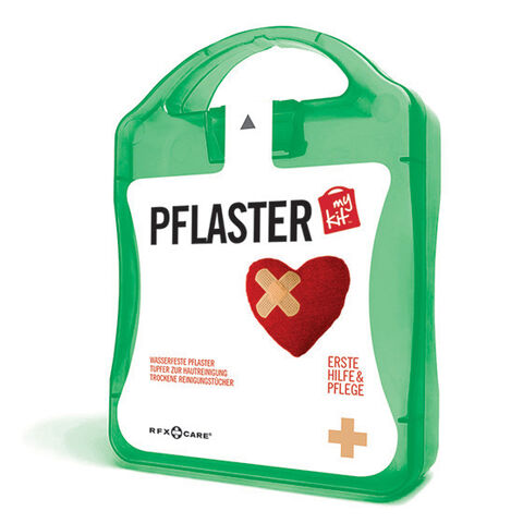 werbeland®-News: MyKit-Pflaster-Set in gruen.