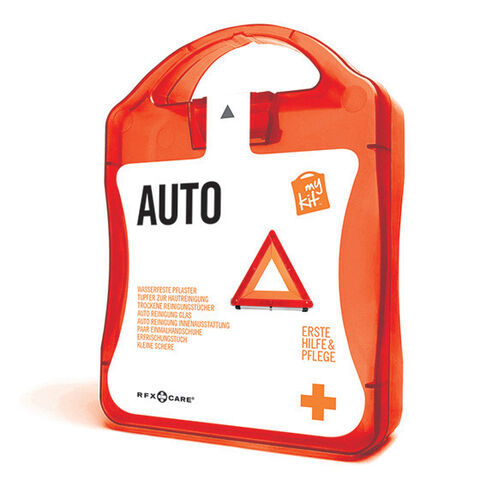 werbeland®-News: MyKit-Auto-Set in orange.
